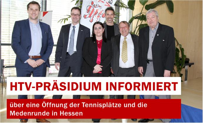 HTV-Präsidium informiert