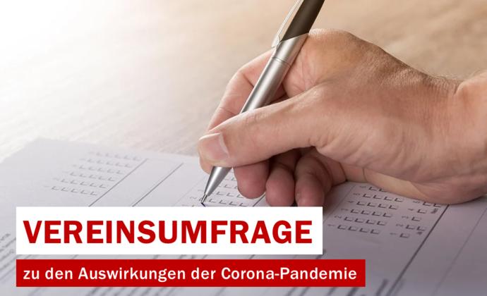Vereinsumfrage zu den Auswirkungen der Corona-Pandemie