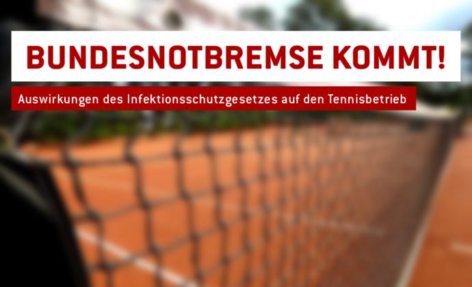 Tennis bei einer Inzidenz über 100