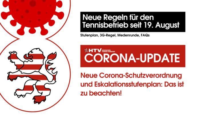 Corona-Update: Neue Regeln für den Tennisbetrieb
